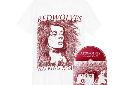 Walking Roads bundle (White T-shirt)